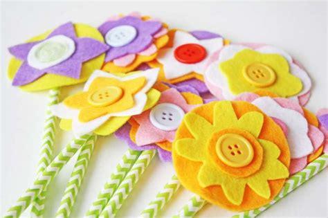 fiori per la festa della mamma festa della mamma i lavoretti in feltro da fare con i