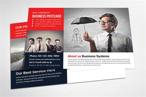 free business postcard templates 18 postcard template photoshop ideas