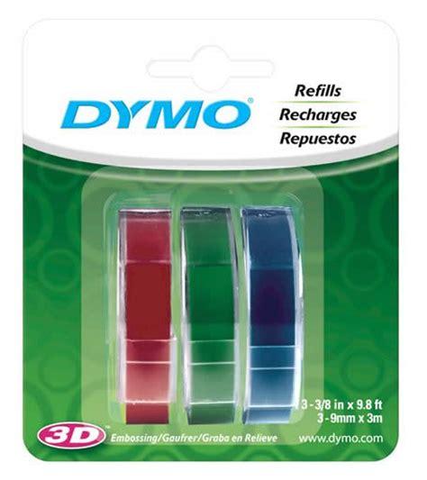 color label maker 6pk dymo 3 8 quot caption label maker refill 58 8