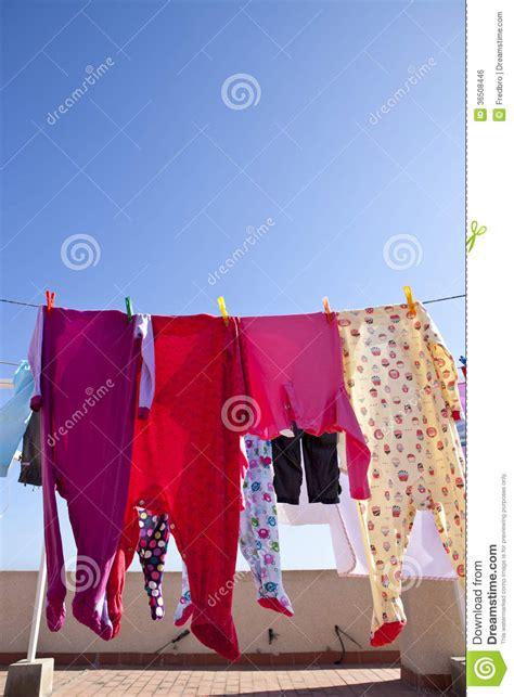 Drying Wardrobe by Drying Clothes Royalty Free Stock Image Image 36508446