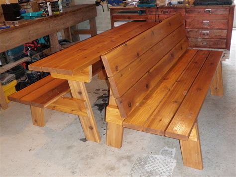 how to build picnic table bench patio picnic bench table set inspirational diy wooden