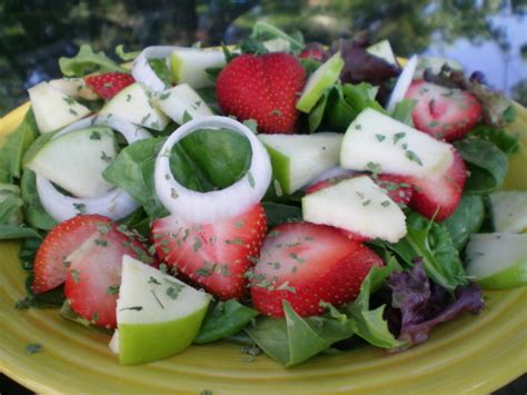 0 point fruit salad weight watchers spinach and fruit salad recipe genius