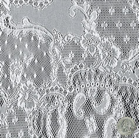 lace curtains by the yard off white aurora organic pattern lace fabric by the by