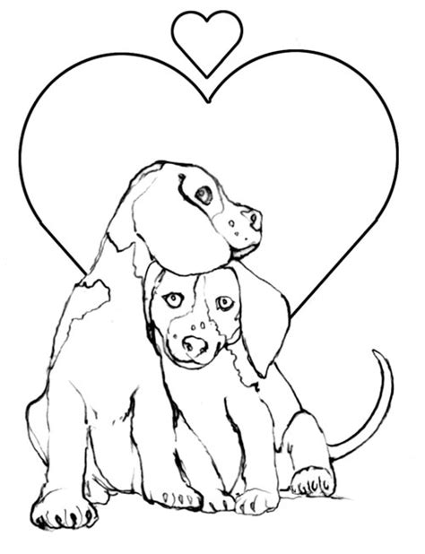 puppy coloring pages puppy lovers creative kids gianfreda net