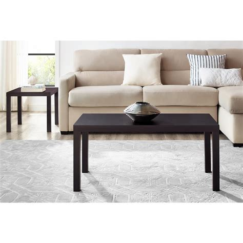dhp parsons modern coffee table dhp parsons espresso coffee table 5099096 the home depot