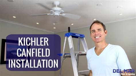 kichler ceiling fan installation kichler canfield ceiling fan installation