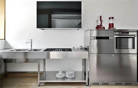 cucina acciaio inox isola per cucine in acciaio inox