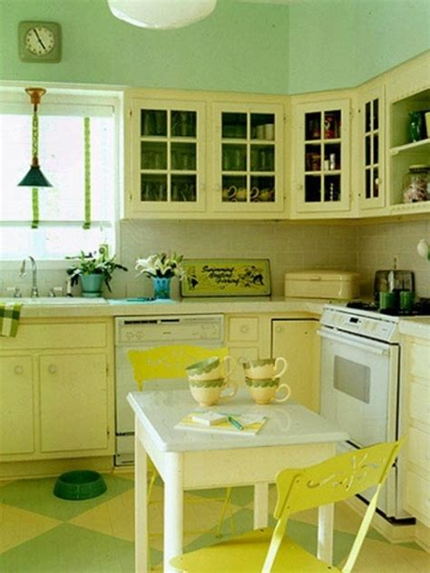 yellow kitchen cabinets cheerful summer interiors 50 green and yellow kitchen