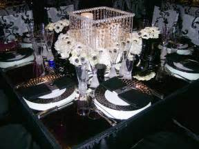 black and white wedding table centerpiece black and white flickr photo sharing