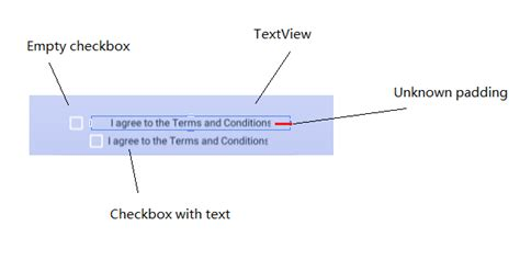 xamarin clickable layout android xamarin padding in textview