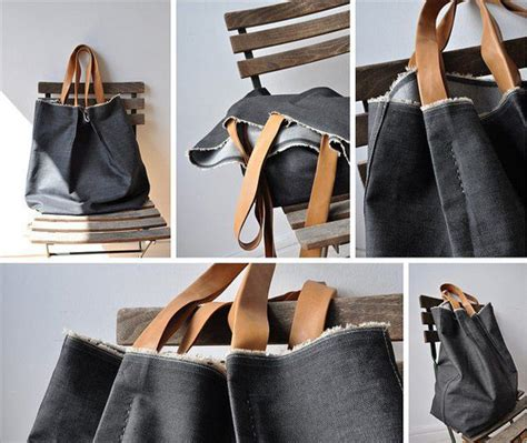 tutorial tas dari celana jins cara kreatif mendaur ulang jeans tua fashiontha