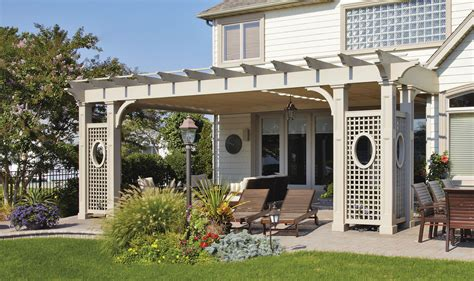 Decking Ideas Simple Rustic Garden Pergola Contemporary