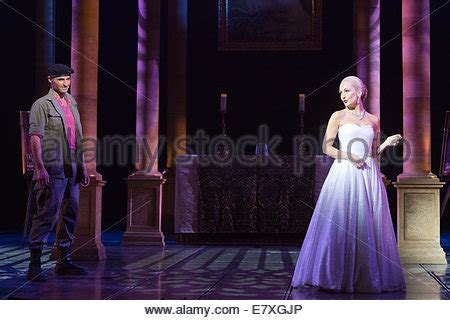 photocall for the evita musical at the dominion theatre
