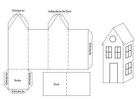 Haus Basteln anleitung zum basteln h 228 uschen aus papier falten