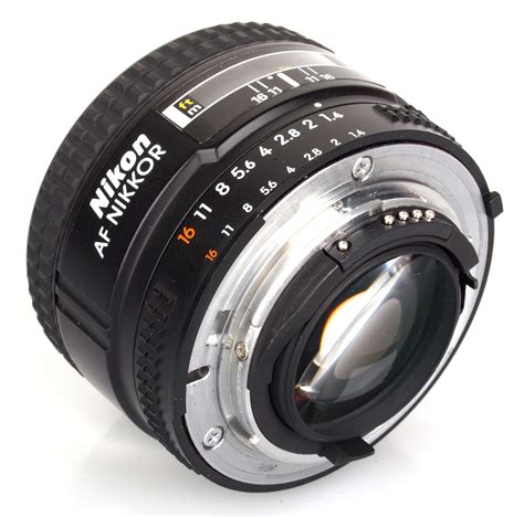 nikon af nikkor 50mm f 1 4d lens review