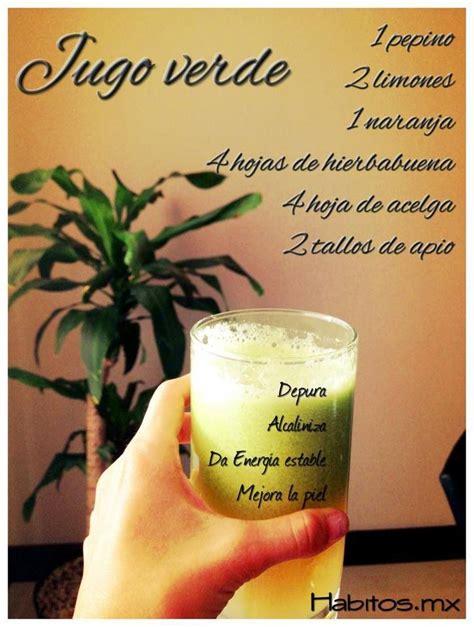 Jugos Detox Argentina by Jugo Verdes Con Hierbabuena Detox Juice