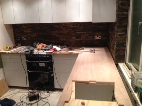 plywood bar top plywood counter tops kitchen make over pinterest