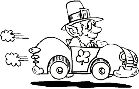 leprechaun coloring pages coloring ville