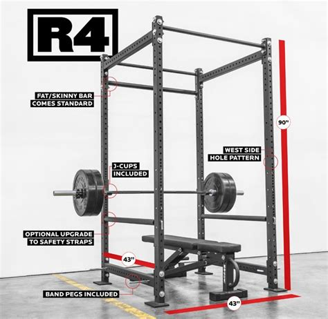 Rogue Power Rack by Rogue R 4 Power Rack Weight Crossfit