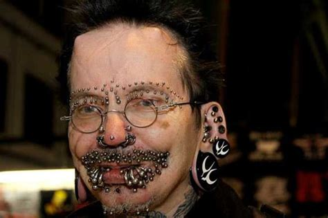 disgusting tattoos disgusting with 453 piercings denied entry into dubai