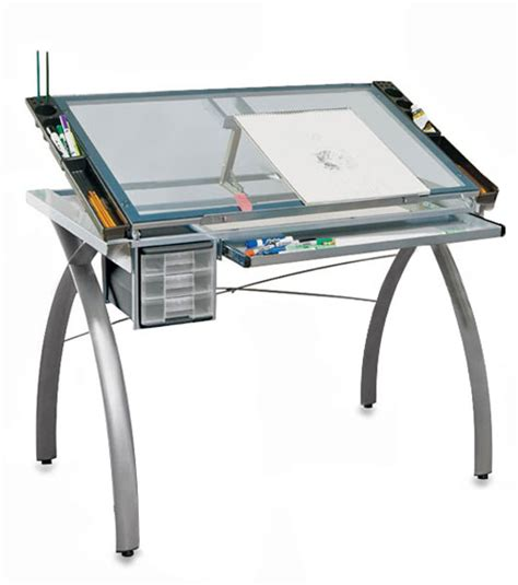 Futura Drafting Table Studio Designs Futura Craft Station Blick Materials