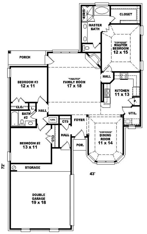 home plans and more dryridge elegant ranch home plan 087d 0111 house plans