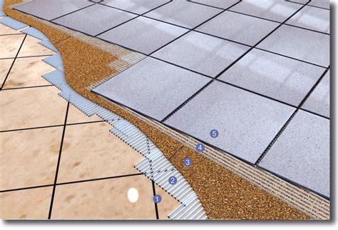 isolare il pavimento isolamento su pavimento incollato lis