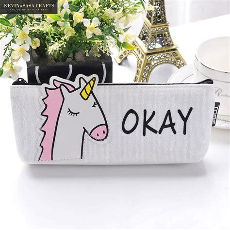 Animal Canvas Pencil animal pencil canvas unicorn school supplies
