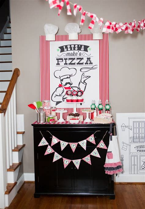 pizza party decorations pizza party table decor kids 714 best images about party ideas on pinterest baby