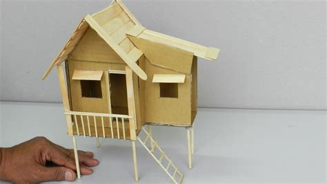 make house popsicle stick house easy house plan 2017