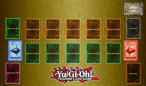 yugioh mat card zone template yu gi oh playmat template request by clannadat on
