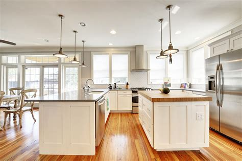 custom bamboo wood kitchen island top in lewes de