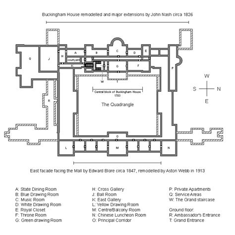Draw A Floor Plan Free File Plan Of Buckingham Palace Gif Wikimedia Commons