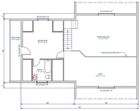 1152 sqft t shape