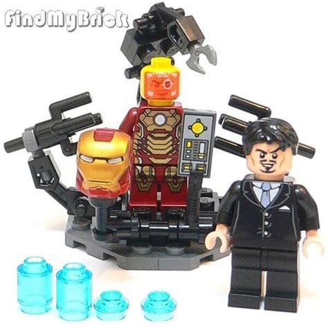lego custom suit gantry anthony tony iron man mark