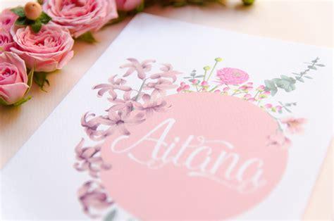 imagenes de flores para invitaciones invitaciones con flores en acuarela hechas a mano