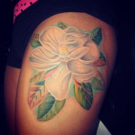 tattoo magnolia flower magnolia tattoo tatoos pinterest