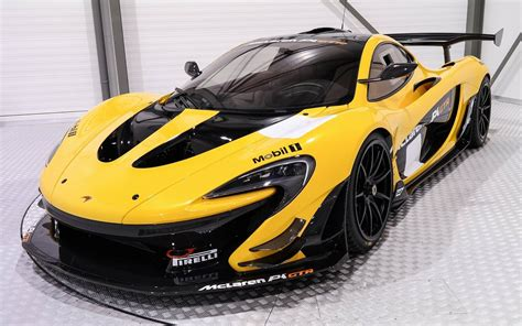 Mclaren P1 Track by Yellow And Black Mclaren P1 Gtr Is A 3 3 Million Track