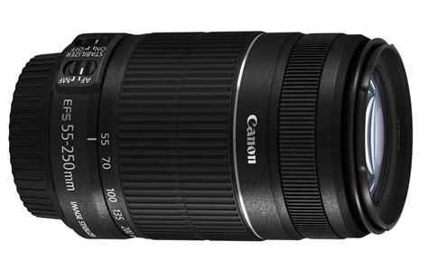 Lensa Tamron 55 250mm For Canon canon ef s 55 250mm f 4 5 6 is ii specifications and