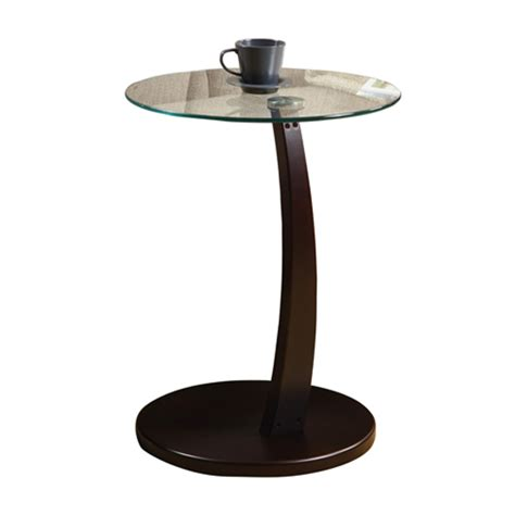 glass accent table accent table