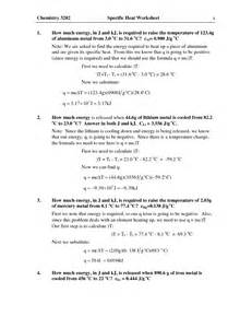 19 best images of thermal energy worksheet answers heat