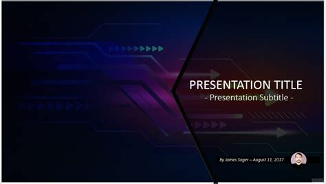 free high tech powerpoint 56932 sagefox powerpoint