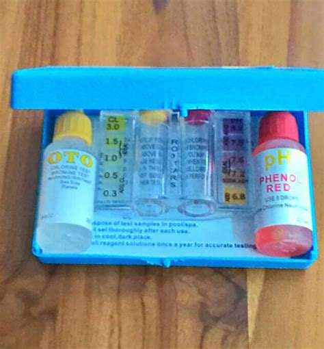 Alat Water Test Kit jual alat test ph kaporit test kit yuho complete