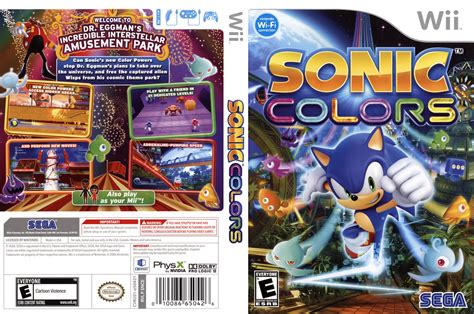 sonic colors wii snce8p sonic colors