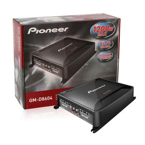 Power Lifier 4 Channel Pioneer Gm 8604 pioneer gm d8604 4 channel car lifier car audio giants