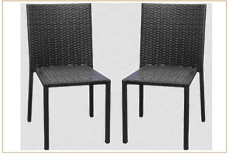 rappel de chaises de jardin riverside de marque carrefour