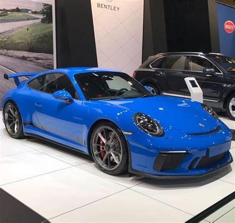 voodoo blue porsche voodoo blue 2018 porsche 911 gt3 is black magic