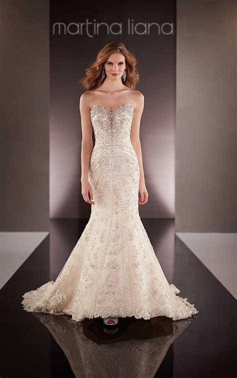 Dress Martine designer sweetheart neckline wedding dress martina liana