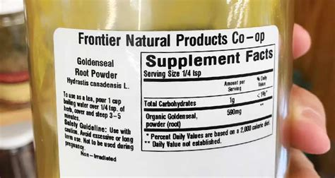 Rite Aid Golden Seal Detox by Golden Seal Test Maple Suyrup Diet