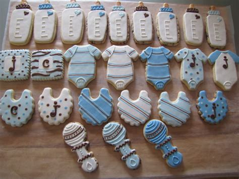 Baby Boy Shower Recipes by Baby Boy Shower Cookies Cakecentral